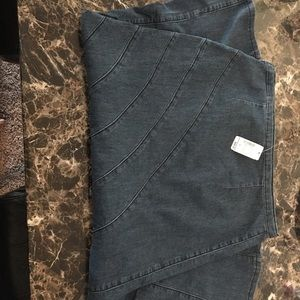 Jean skirt with tags on it brand new, never worn.